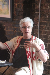 David Henry Sterry discusses publishing options at The Writers Circle