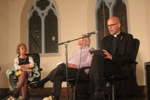 Panelists at LET ALL VOICES BE HEARD: Writers of Different Faiths Share Their Stories